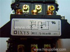 MCC72-16IO1B - Thyristor Modules Thyristor/Diode Modules - IXYS Corporation