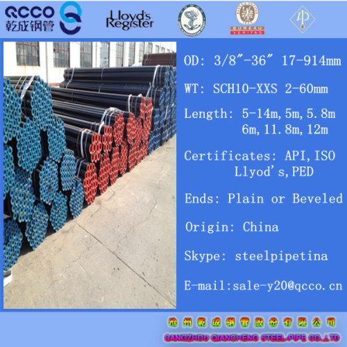 Ferritic alloy-steel pipe a335 gr p91 168 3*7 11mm from