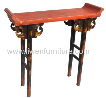 Antique entrance hall table