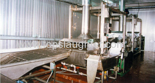 Food Processing Equipment Automated Tunnel Fryer