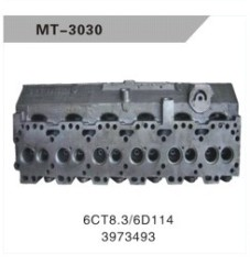 6CT8.3/6D114 CYLINDER HEAD FOR EXCAVATOR