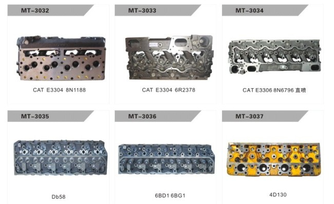 E3306 8N6796 CYLINDER HEAD FOR EXCAVATOR