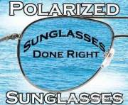 Polarized lens sunglasses
