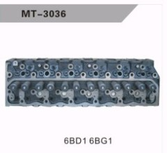 6BD1 6BG1 CYLINDER HEAD FOR EXCAVATOR
