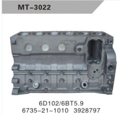 6D102/6BT5.9 CYLINDER BLOCK FOR EXCAVATOR