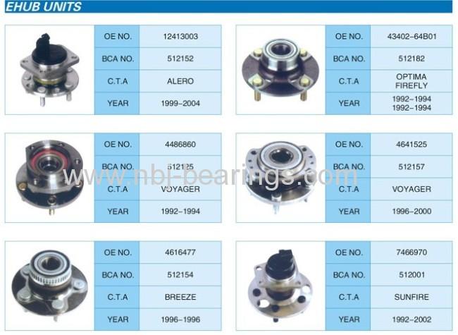 Wheel Hub Units(Autopart )