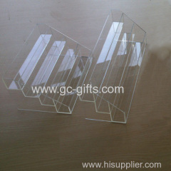 The four layer of the organic glass nail polish frame