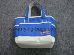 Colorful shopping cooler bag