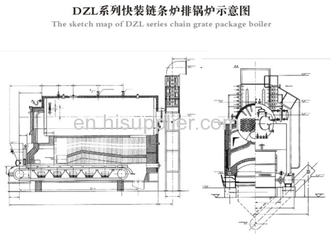 DZL Series Packaged Traveling Grate Boiler