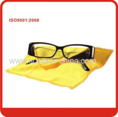 Microfiber eye glasses cleaning cloth to clean glasses sunglasses camera lens mobile phone PDAs