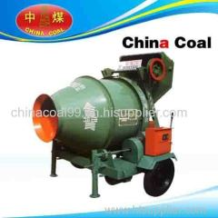 Volumetric mortar cement mixer