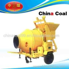 Tractor mounted cement mixers