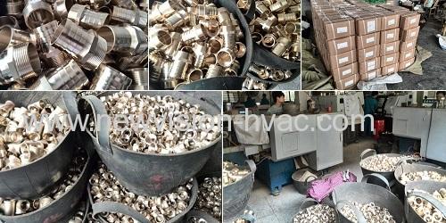 CNC Precision Brass Fitting - Union