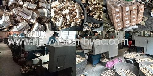 CNC Machining Brass Fitting