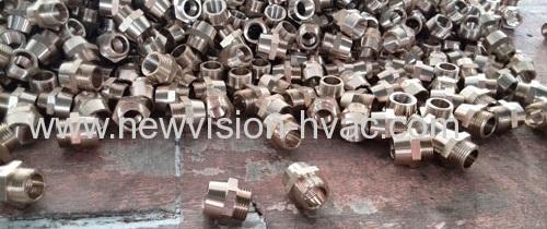 HVAC Brass Pipe Fitting