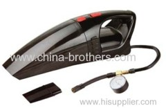 DC 12V car vacuum cleaner with cigarette lighter plug