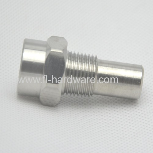 Stainless steel machined switch valve connector