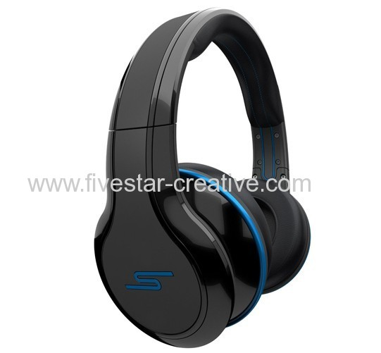 Street by 50 Cent Wired Over-Ear Headphones-Black by SMS Audio
