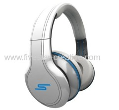 SMS Audio SMS Street by 50 cent Wired over-ear headphone white