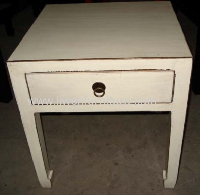 china furniture antique end table