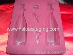 Disposable and strong White PS Antistatic Blister Plastic Tray