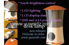 touch brightness control desk lamp
