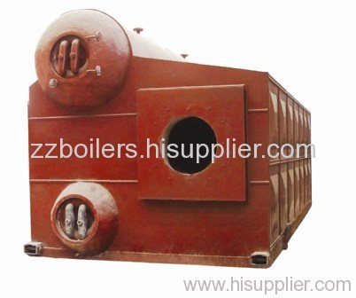D Type Oil and Gas Boiler