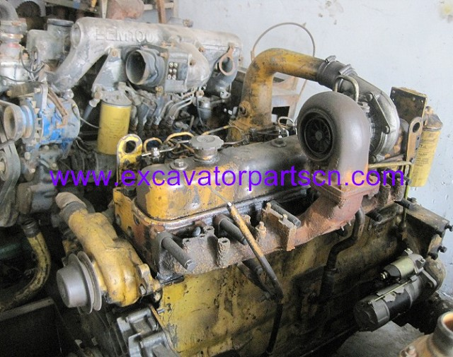6D105 ENGINE ASSY FOR EXCAVATOR