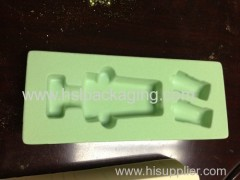 Plastic Flocking Tray for Cosmetic
