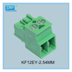 4A 2 Pole Plug-in and Socket Terminal Block---kaifeng electronic co.,ltd