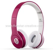 Beats Solo HD On-Ear Headphone-Pink