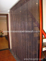 decorative metal bead curtain