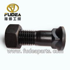 Plow bolt for dozer cutting edge end bit