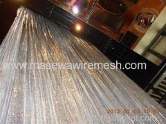 Aluminum metallic cloth screen