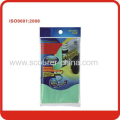 Safety Light green/yellow Magic microfiber Screen cleaning cloth