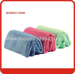 Widely used in cleaning furniture polishing glass kitchen bath Magic 40*40cm microfiber clean cloth