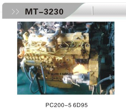 PC200-5 6D95 ENGINE ASSY FOR EXCAVATOR