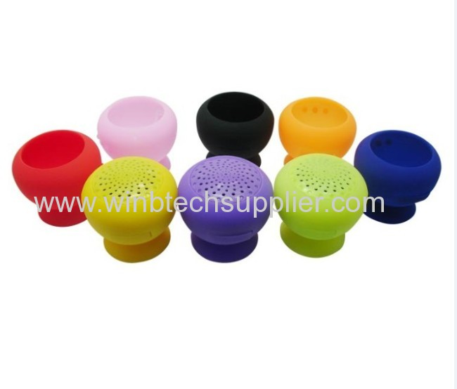promotional mini Bluetooth speaker with sticker various colors