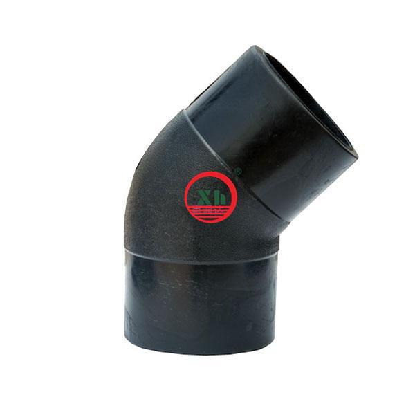 2013 hot sale HDPE 100 HDPE 45D Elbow