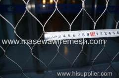 woven stainless steel rope mesh
