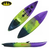 single sit on top fishing kayak with PE material two covers