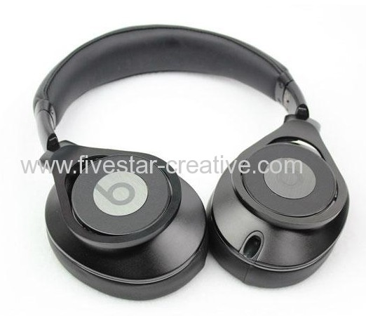 2013 New Version Beats by Dr.Dre Executive Over Ear Headphone All Black