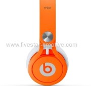 Beats by Dr Dre Mixr High Performance On Ear Headphone Neon Orange