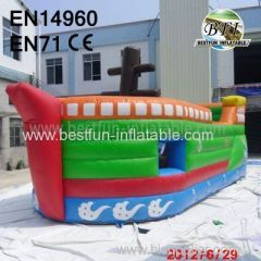 Long Inflatable Boat Bouncer