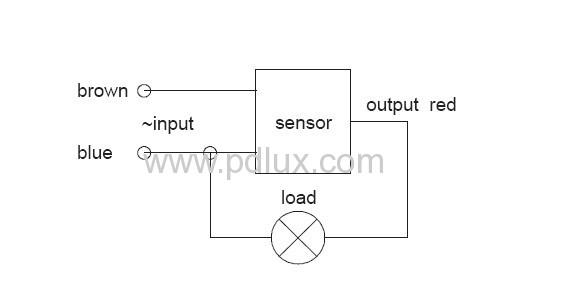 High-frequency PIR motion sensor