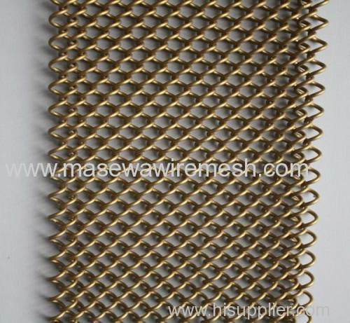 restaurant curtain metal screen