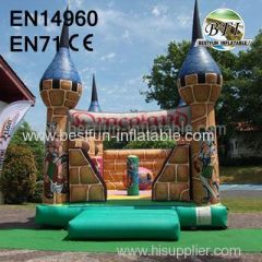 Inflatable park castle for kids