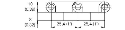 Newly Designed M2533 Modular conveyor Belt