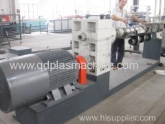 PE plastic pipe extrusion machine