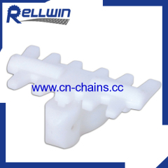 plastic conveyor cleated Chain with SS pin 7000C